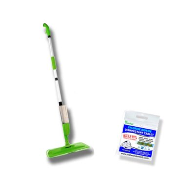 3 in 1 Disinfectant Spray Mop Set